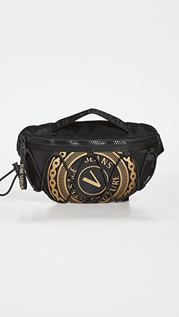 Versace Jeans Couture V Emblem Belt Bag