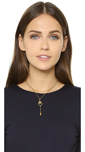 Vanessa Mooney The Morrison Chain Arrow Choker Necklace