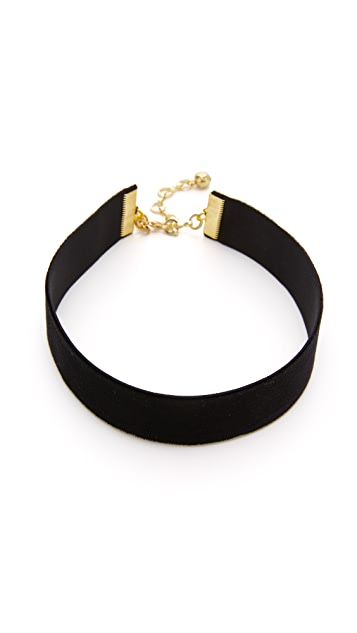 Vanessa Mooney Velvet Choker Necklace