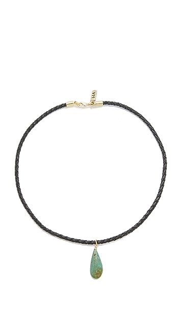 Vanessa Mooney Drop Choker Necklace