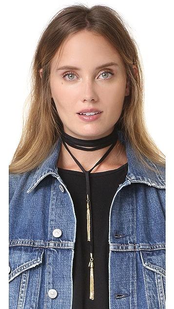 Vanessa Mooney The Demi Bolo Necklace