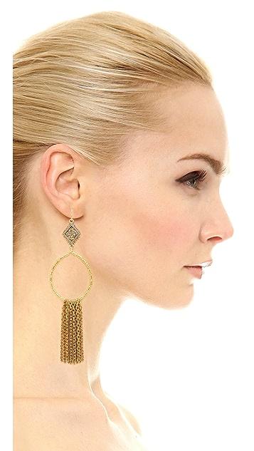 Vanessa Mooney The Hailey Hoop Earrings