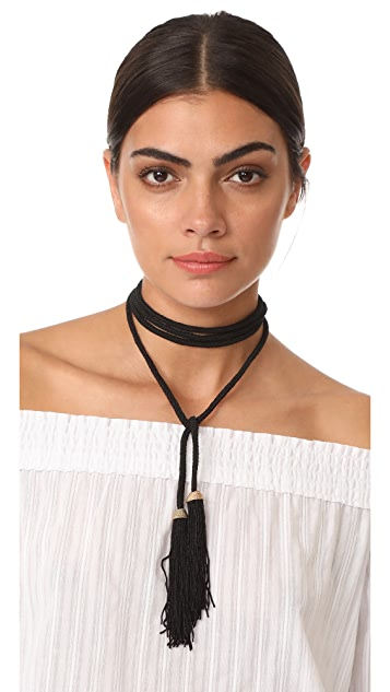Vanessa Mooney The Memphis Bolo Necklace
