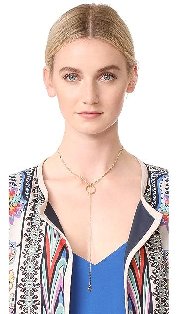 Vanessa Mooney The Julian Drop Choker Necklace