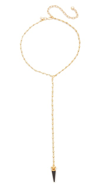 Vanessa Mooney The Fiona Drop Choker Necklace