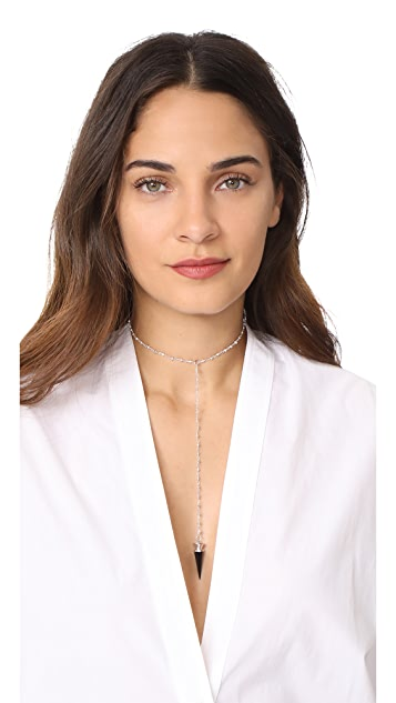 Vanessa Mooney The Fiona Drop Choker Necklace