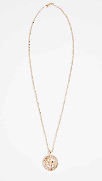 Vanessa Mooney Rossa Charm Necklace