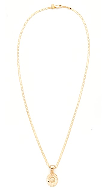 Vanessa Mooney Son of Man Charm Necklace