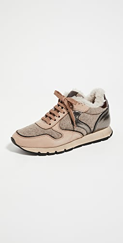 Voile Blanche - Julia Shearling Trainers