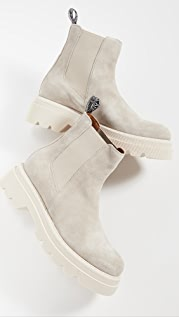 Voile Blanche Tweed 09 Chelsea Boots