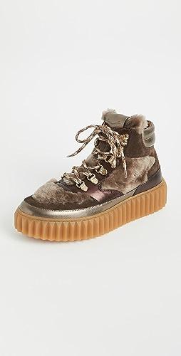 Voile Blanche - Eva 连毛羊皮登山靴