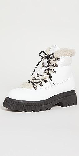 Voile Blanche - 花呢 04 靴子
