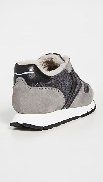 Voile Blanche Julia Shearling Sneakers