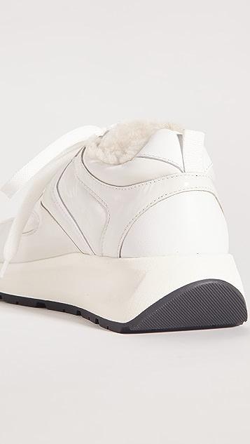 Voile Blanche Flowee Pump Shearling Sneakers