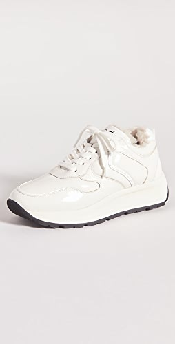 Voile Blanche - Flowee Pump Shearling Sneakers
