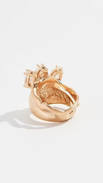 Voodoo Jewels Sigillum Ring with Three Stones