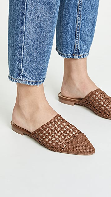 Villa Rouge Stacey Woven Mules