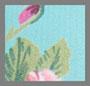 Aqua Multi с цветочным рисунком