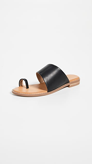 Villa Rouge Stella Toe Ring Sandals