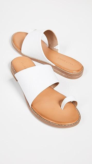 Villa Rouge Stella 趾环凉鞋
