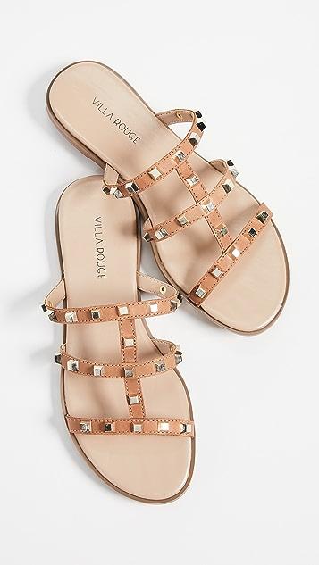 Villa Rouge Sophie Slide Sandals