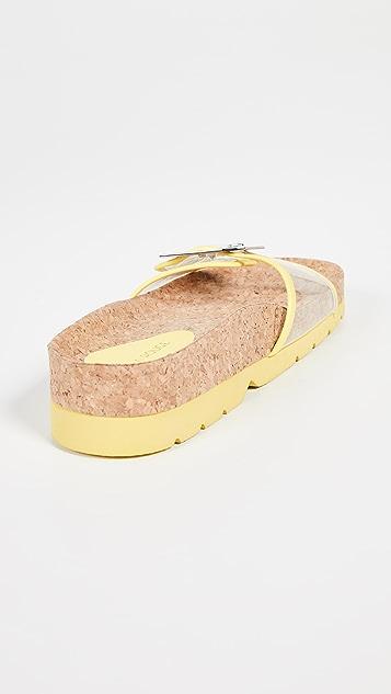 Villa Rouge Elie 厚底便鞋