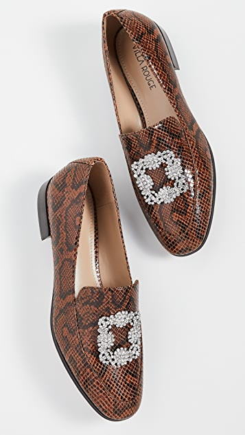 Villa Rouge Patrice Brooch Loafers