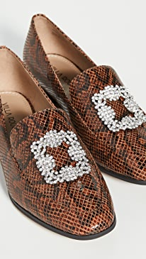 Patrice Brooch Loafers