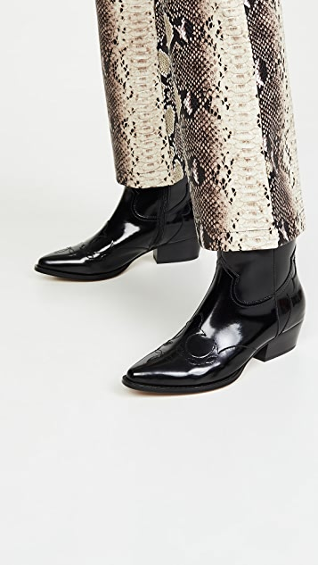Villa Rouge Ковбойские ботинки Bronson