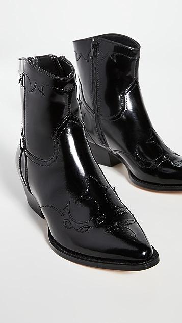 Villa Rouge Bronson Cowboy 靴子