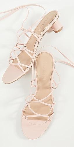 Villa Rouge - Cashmere Sandals