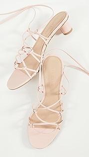 Villa Rouge Cashmere Sandals