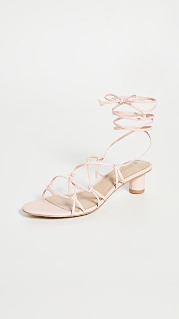 Villa Rouge Cashmere Sandals