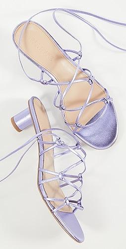 Villa Rouge - 开司米羊绒凉鞋
