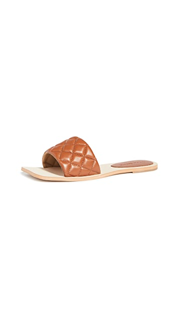 Villa 胭脂红 海滩凉拖鞋