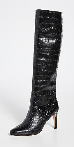 Villa Rouge - Flor Knee High Boots