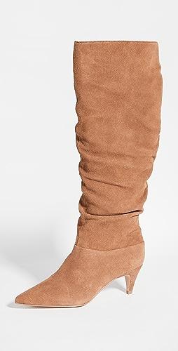 Villa Rouge - Scarlett 及膝靴