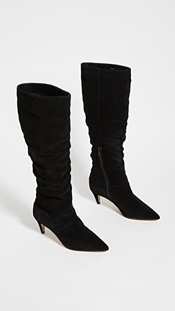 Villa Rouge Scarlett 及膝靴