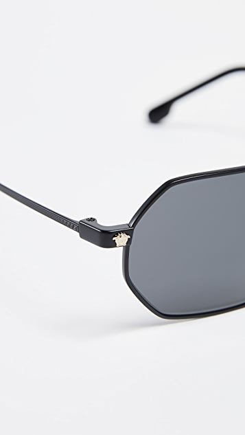 Versace Vintage Octagon Sunglasses
