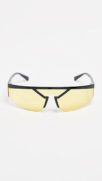 Versace Visor Sunglasses