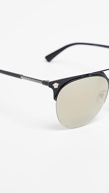 Versace Pilot Sunglasses