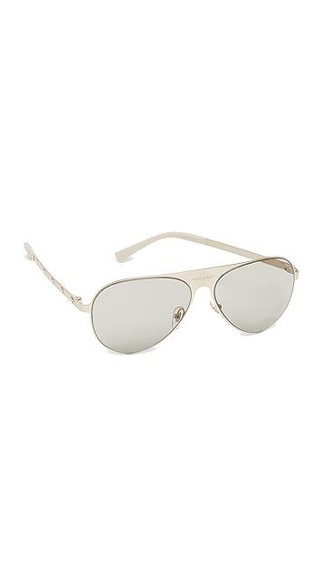Versace Medusina Pilot Sunglasses