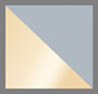 Pale Gold/Grey Mirror