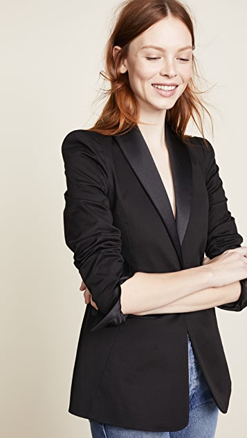 Valentina Shah Lauren Smoking Jacket