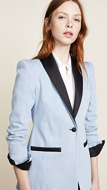Valentina Shah Lauren Smoking Jacket