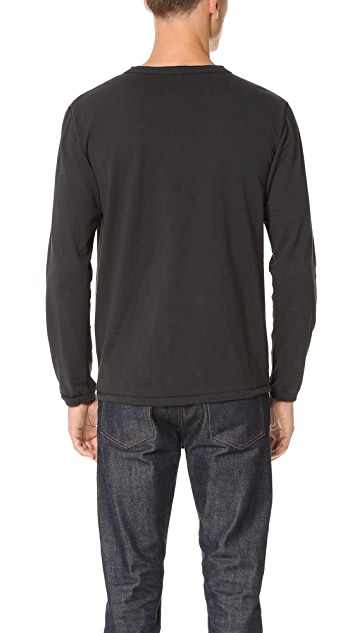 Velva Sheen Long Sleeve Henley