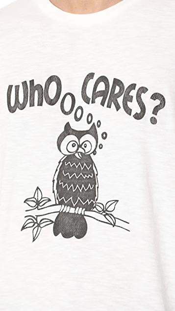 Velva Sheen Who Cares? Tee