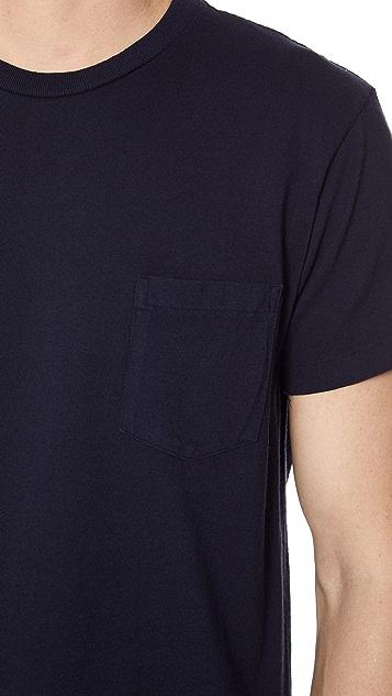 Velva Sheen Short Sleeve Pocket Tee 2 Pack