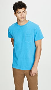Velva Sheen Pigment Tee With Pocket