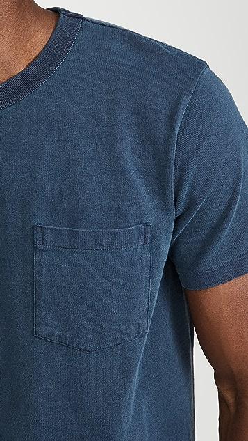 Velva Sheen Pigment Dyed Pocket T-Shirt
